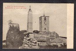 1919 VOLTA MANTOVANA Monumento Ai Caduti Del1848  FP V  SEE 2 SCANS - Italia