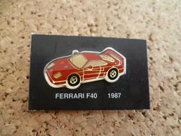 Pin's ** Automobile Ferrari F40 -1987 ** Voiture, Auto - Ferrari