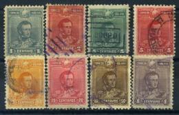 Bolivia 1899 Mi. 58-65 Usato 80% Generale Antonio De Sucre - Bolivia