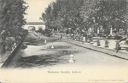Shalamar Garden - Lahore (Pakistan) - Edition B.N. Kapur - Carte Non Circulée - Pakistan