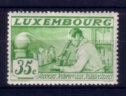 LUSSEMBURGO - LUXEMBOURG  - 1935 - PRO COMITATO INTERNAZ.DI SOCCORSO  INTELLETUALI EMIGRATI 35 C. - Luxembourg