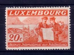 LUSSEMBURGO - LUXEMBOURG  - 1935 - PRO COMITATO INTERNAZ.DI SOCCORSO  INTELLETUALI EMIGRATI 20 C. - Luxembourg