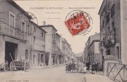 34 / CLERMONT L HERAULT / BOULEVARD GAMBETTA / PLAN RARE - France
