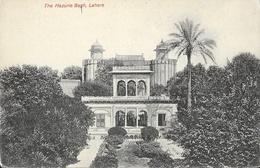 The Hazurie Bagh - Lahore (Pakistan) - Royal Fort - Carte Non Circulée - Pakistan