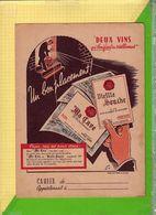 PROTEGE CAHIER : Deux Vins Vieille Souche Ma Cave - Protège-cahiers