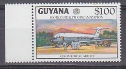 Guyana 2000 WHO/Aeromedical Airlift / Airplane 1v ** Mnh (37408) - Guyana (1966-...)