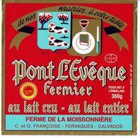 Et. PONT L'EVEQUE  Fermier - Ferme De La Moissonnière - Fromage