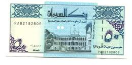Sudan UNC 50 Dinars  Banknote - Soudan