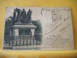 B16 7015 CPA 1899 - 62 CALAIS. MONUMENT DES BOURGEOIS DE CALAIS - EDIT. ? (+DE 20000 CARTES MOINS 1 EURO) - Calais