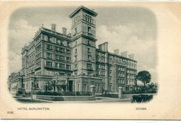 UNITED KINGDOM / ROYAUME - UNI - Dover : Hotel Burlington - Dover