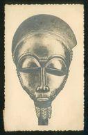 Marruecos. *A. O. F. - Masque Baoulé* La Carte Africaine Nº 10M. Circulada 1961, Correo Aéreo Bata-Guinea. - Morocco