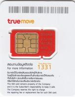 THAILAND - True GSM Card ,Cat & Dog, Mint - Thaïlande