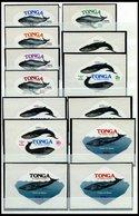 TONGA 629-38, D 162-64 **, 1977, Naturschutz, Komplett Mit Dienstmarken, Pracht, Mi. 104.- - Tonga (1970-...)