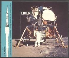 Liberia 1989 Yvertn° Bloc 121 *** MNH Cote 50 FF L' Espace Ruimtevaart - Liberia