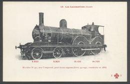 F. Fleury - Réseau OUEST N° 42 - Machine Type 220 N° 251 - Voir 2 Scans - Treinen
