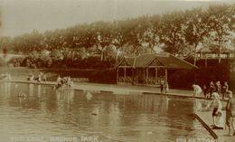 RPPC  THE LAKE RADNOR PARK FOLKESTONE - Folkestone