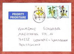 Brief, MiF Frauenschuh U.a., Allhaming Nach Leonberg (45991) - 1945-.... 2a Repubblica