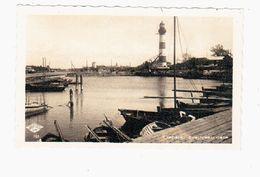Ljepaja Zvejnieku Osta Leuchtturm Hafen Ca 1930 OLD PHOTOPOSTCARD 2 Scans - Lettonie