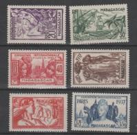 MADAGASCAR   1937   **   MNH   ESPOSICION  INTERNACIONAL  PARIS   1937 - 1937 Exposition Internationale De Paris
