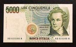 Serie Sostitutive XD 5000 Lire Bellini 1996 Fds   LOTTO 372 - [ 2] 1946-… : Républic