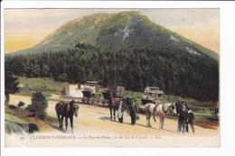 Lot 2 Cpa Voiture à Chevaux: Puy De Dôme - Clermond-Ferrand - Cartes Postales