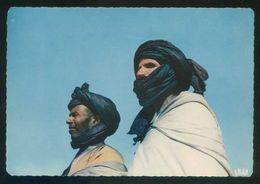 Marruecos. M'Hamid. *Types D'Hommes Bleus* Ed. La Cigogne Nº 95.003.52. Circulada 1971. - Marruecos