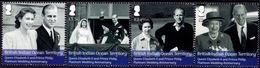 British Indian Ocean Territory - BIOT - 2017 - Queen Elizabeth II - Platinum Anniversary  - Mint Stamp Set - Brits Indische Oceaanterritorium