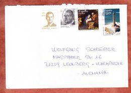 Brief, MiF Weihnachten U.a., Barcelona Nach Leonberg 2016 (45996) - 1931-Heute: 2. Rep. - ... Juan Carlos I