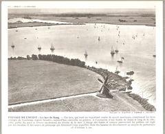Hollande Paysage De L'ouest Les Lacs De Kaag Photo Issue De La Documentation Photographique N°52 De 1951 - Lieux