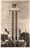 Cpa Exposition 1937, La Façade Du Pavillon Allemand, Drapeau Nazi (53.46) - Organisations