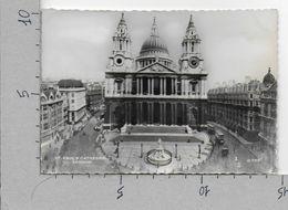 CARTOLINA VG REGNO UNITO - LONDON - St. Paul's Cathedral - 10 X 15 - ANN. 1957 - St. Paul's Cathedral