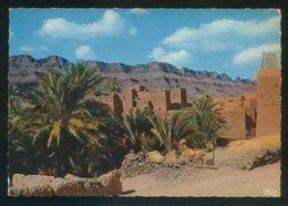 Marruecos. *Kasbah Dans Le Vallée Du Draâ* Ed. La Cigogne Nº 95.003.81. Nueva. . - Marruecos