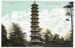 London Kew Gardens Pagoda - Empire Series - Unused C1907 - London Suburbs