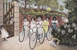 Baby, Bébé, Humour, Fantasy, Fantasie, Babies With Bicycles (pk42626) - Cartes Humoristiques
