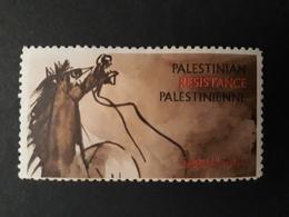 Palestine - Vignette De La Résistance Palestinienne - TB - Palestine