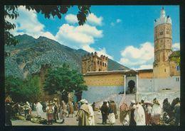 Marruecos. Xauen. *Mezquita Y Antiguo Alcázar* Ed. Lib. Escolar Nº 62. Nueva. - Marruecos