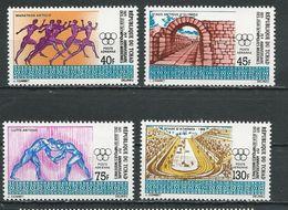 TCHAD  Scott C85-C88 Yvert PA89-PA92 (4) ** Cote 5,50$ 1971 - Tchad (1960-...)