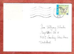 Brief, EF Schmetterling, Bruessel Nach Leonberg 2015 (46009) - Cartas