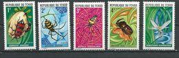 TCHAD  Scott 252-256 Yvert 245-249 (5) ** Cote 16,00$ 1972 - Tchad (1960-...)