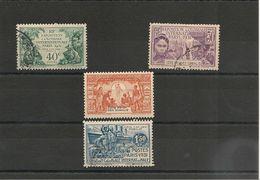 CÔTE FRANÇAISE DES SOMALIS Année 1931 N° Y/T : 137/140° Oblitérés Côte : 33,00 € - Oblitérés