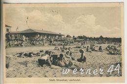 Leerbeutel V.1932 Strandcafe Und Das Städt. Stranbad  (12600) - Schlesien