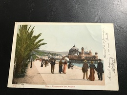 441 - NICE Promenade Des Anglais - 1904 Timbrée - Places, Squares