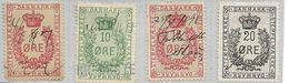 DENMARK Dänemark  Used Ca. 1898  Tax Steuermarke - Fiscali