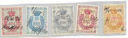 DENMARK Dänemark  Used Ca. 1896-1906  Tax Steuermarke - Fiscali