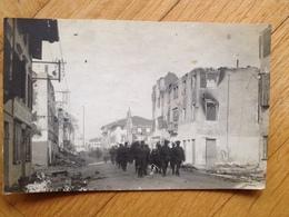 TN 1301 Foto Militare 1917 Via Con Soldati Bella Prima Guerra - Ohne Zuordnung