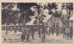 Congo, Bokoro, Na De Hoogmis S Zondags, Missiën Van Scheut (pk42642) - Missions