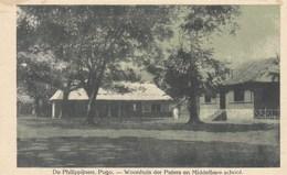 De Philippijnen Pugu, Philippines, Woonhuis Der Paters En Middelbare School (pk42644) - Missions