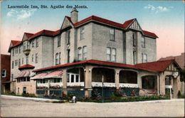 ! Old Postcard 1934 Sainte-Agathe-des-Monts, Laurentine Inn, Quebec, Canada, Kanada - Quebec