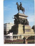 U1851 POSTCARD - SOFIA, LE MONUMENT DES LIBERATURS, DAS DENKMAL DER BEFRELER - Bulgaria