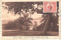 JACMEL HAITI VUE PLACE D ARMES SUR RADE - Haïti